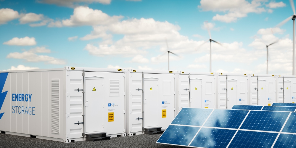 Grid-connected energy storage