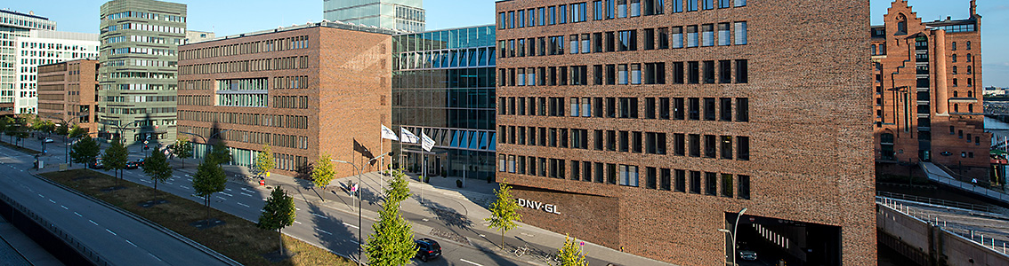 DNV GL maritime headquarters Hamburg