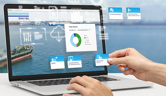 Digital services via My DNV GL