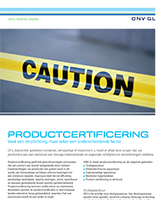 Productcertificering