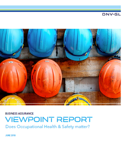 DNV GL Report Does Occupational Health & Safety matter?